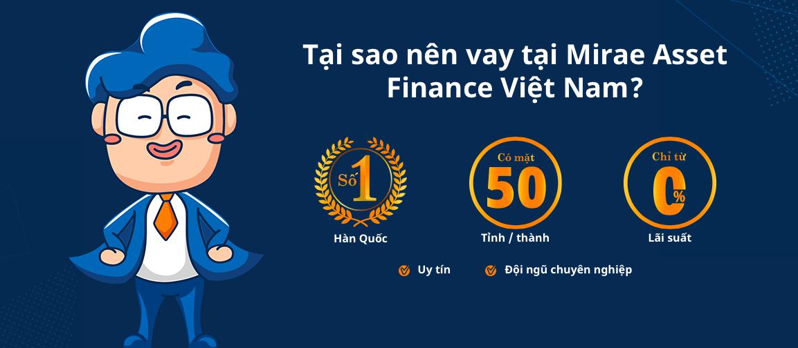 Hướng dẫn vay tiền Mirae Asset bằng sổ hộ khẩu