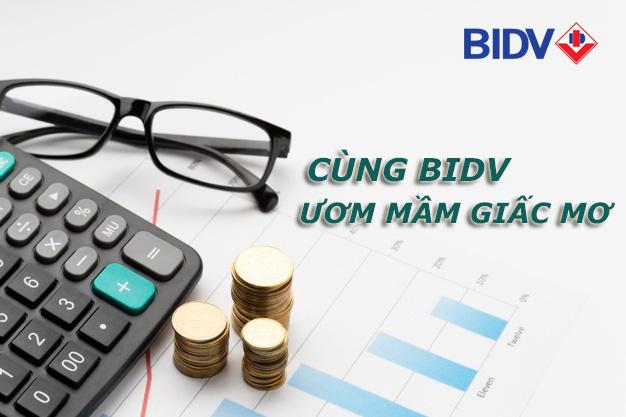 Hướng dẫn vay tiền BIDV 5/2021