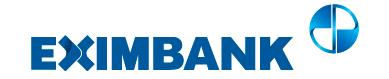 Hướng dẫn vay tiền EximBank tháng 5/2021