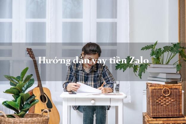 Hướng dẫn vay tiền Zalo không gặp mặt